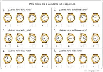 la hora relojes analogicos 05