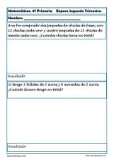 matemáticas tercero primaria 10