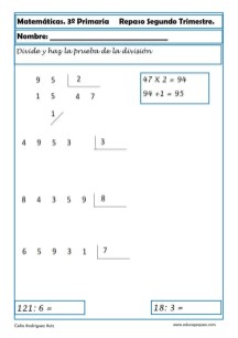 matemáticas tercero primaria 18