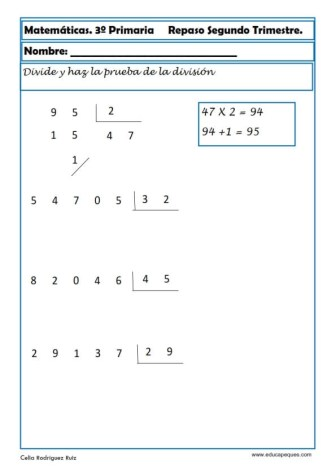 matemáticas tercero primaria 30