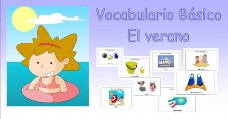 vocabulario básico verano