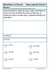 matemáticas sexto primaria 10