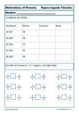matemáticas sexto primaria 15