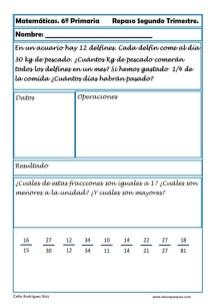 matemáticas sexto primaria 18