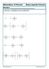 matemáticas sexto primaria 22
