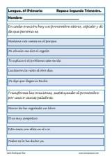 Fichas lengua quinto primaria 11