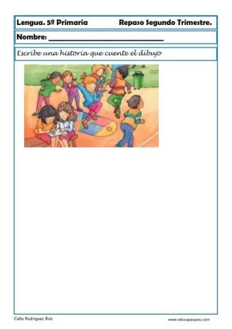 Fichas lengua quinto primaria 12