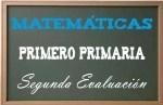 Matemáticas Primero Primaria 2