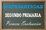 Matemáticas Segundo Primaria 1
