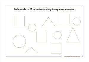 12 Fichas Con Ejercicios Figuras Geometricas Primaria