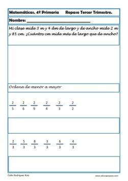 matemáticas cuarto primaria 07
