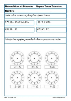 matemáticas cuarto primaria 15