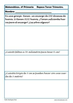 matemáticas cuarto primaria 16