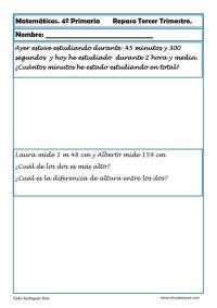 matemáticas cuarto primaria 19