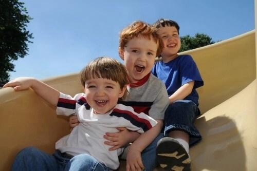 Ir al parque con los niños