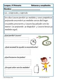 aprender repasar lengua primaria 14