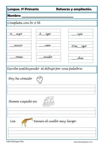 aprender repasar lengua primaria 28