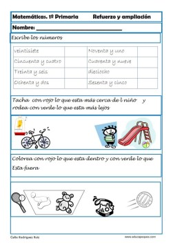 matemáticas primero primaria 04