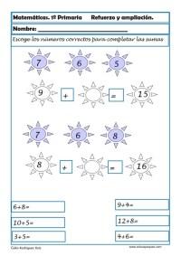 matemáticas primero primaria 08
