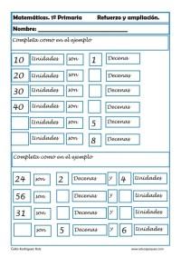 matemáticas primero primaria 21