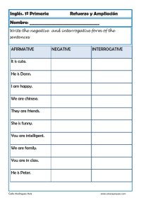 Inglés primaria 22