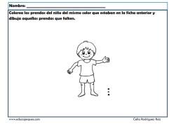Memoria fichas infantil 18