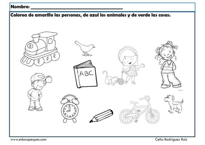 Asociar 20 Fichas Con Ejercicios De Asociacion Visual Para