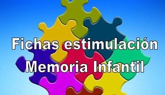 fichas para estimular la memoria, memoria en niños, memoria infantil, ejercicios de memoria