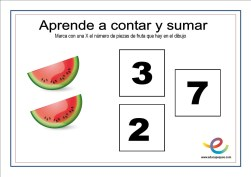 contar y sumar 10