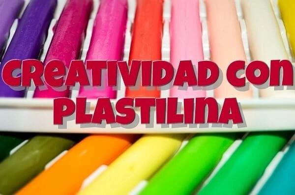 Estimulación creativa con plastilina