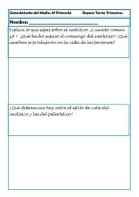 Conocimiento del medio primaria 03