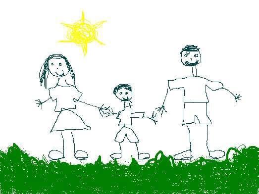 el dibujo infantil