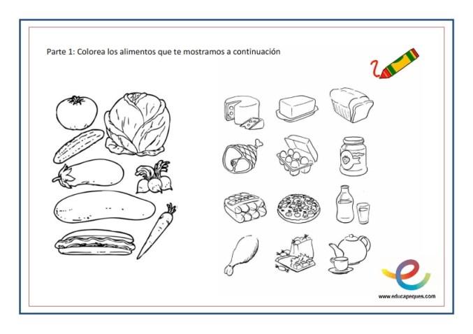 actividades de comida saludable