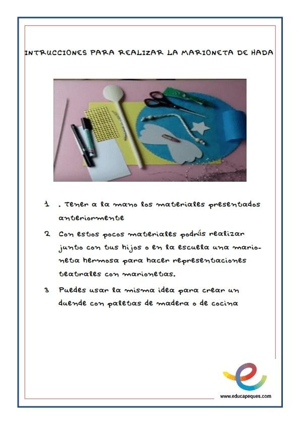 Fichas- Manualidades y fichas de trabajos e ideas para trabajar con Hadas y Duendes_002