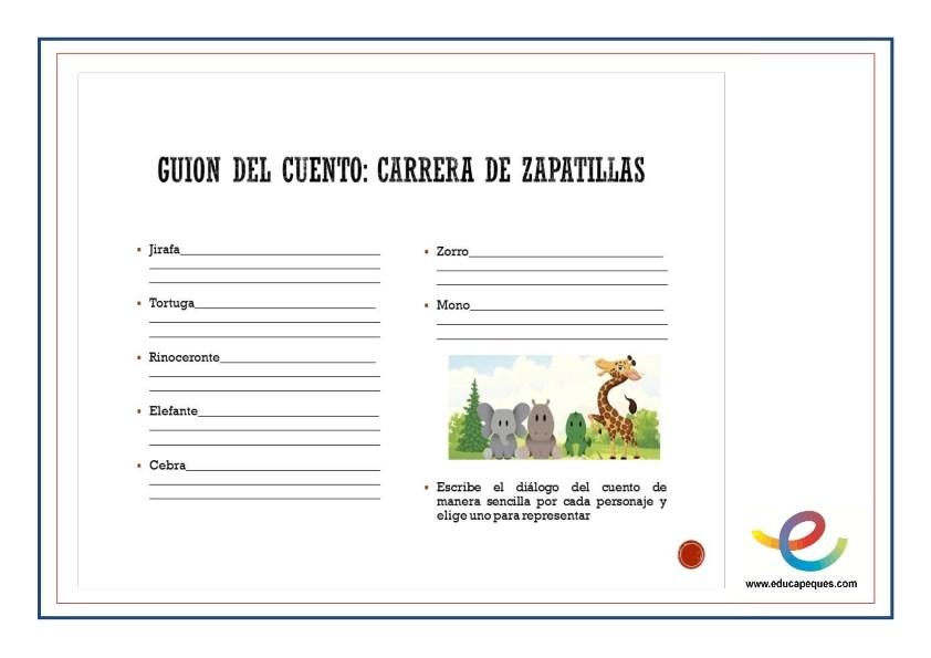 Fichas- cuentos infantiles y dramatización 002