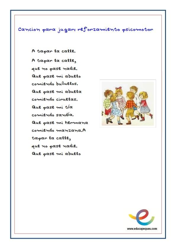 Fichas cancion infantil recurso educativo _003