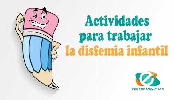 actividades para trabajar la disfemia