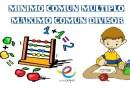 El mínimo común múltiplo y máximo común divisor
