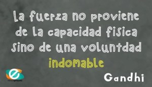 Frases educativas Gandhi