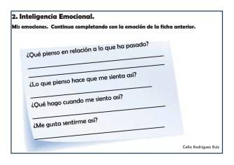 Fichas desarrollo emocional 02