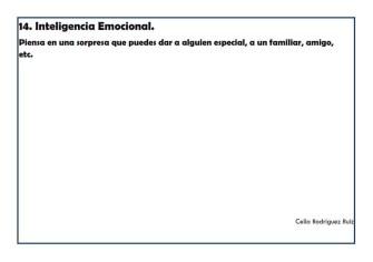 Fichas desarrollo emocional 14