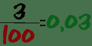 Fracciones decimales ejemplos