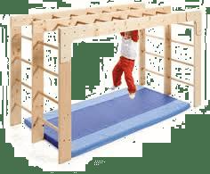 Qué es la escalera de braquiación