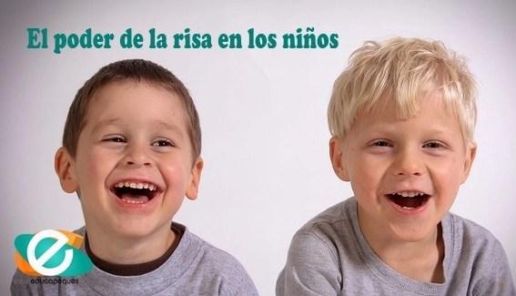 El poder de la risa en los niños