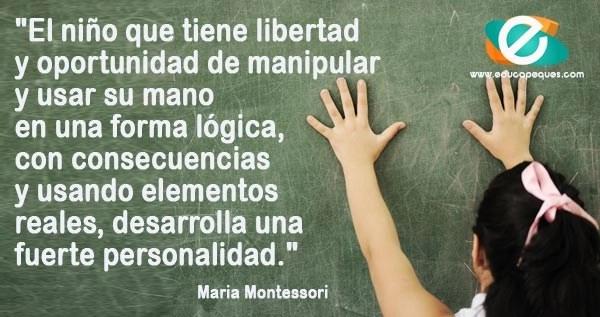 frases María Montessori