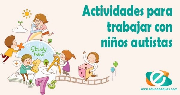 actividades para trabajar con niños autistas