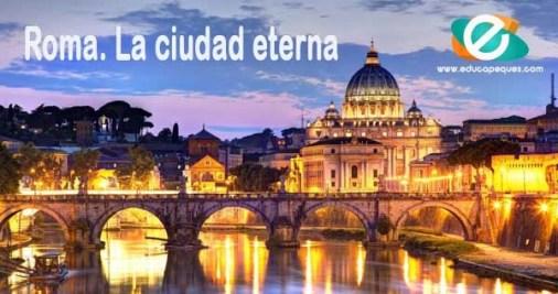 viajar a Roma con niños