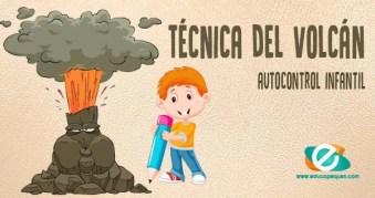 técnica del volcán