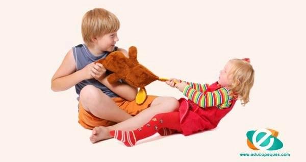 Peleas entre niños