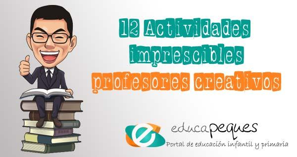 profesores creativos